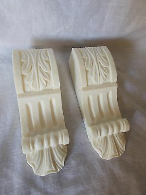 Small Ornate Decorative Silicone Mould Underneath Shelf Fire~Place Corbels