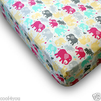 Printed Print Fitted Kids Sheet Children Single Bed Size with Elasticated Corner