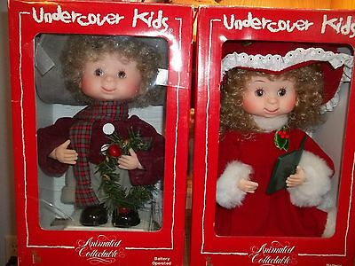 Undercover Kids - Lot Of 2 - Derek & Alycia - Boxes Included - Animated - Euc
