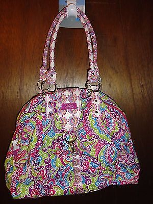 NWT Longaberger Quilted Sisters Fantasy Purse-