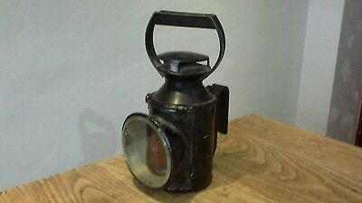 Br / Lmr Railway Road Lamp Complete With Inside Burner Original Condition