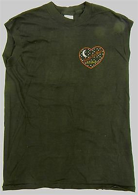 original ROD STEWART never worn sleeveless LE GRANDE TOUR concert t-shirt 1981/2