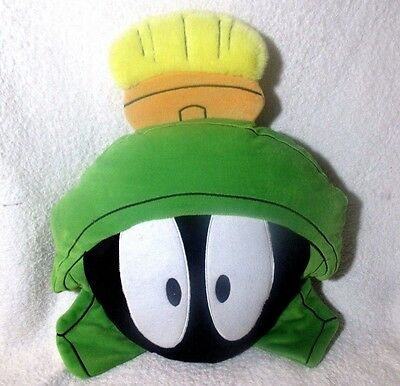 Warner Bros Looney Tunes Marvin The Martian Pillow Plush Stuffed Animal Toy 1995