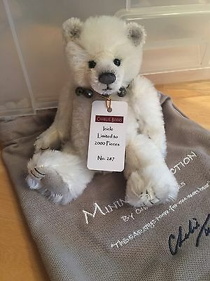 Charlie Bear Icicle Mohair Minimo Limited Edition No 287 of 2000