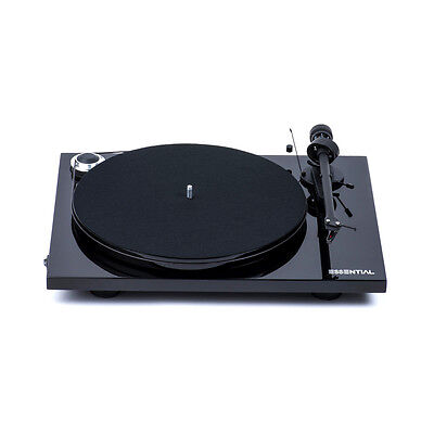 Pro-Ject Essential III - Black Belt Drive Turntable
