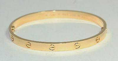 Cartier LOVE Bangle In 18ct Yellow Gold Size 20
