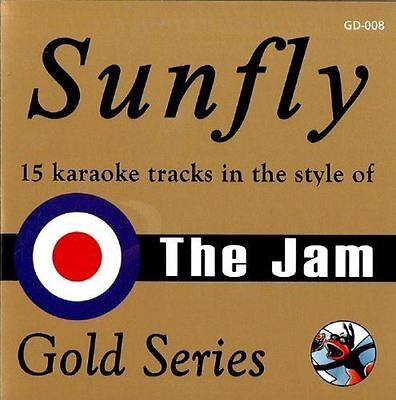 Sunfly Karaoke Gold Series The Jam CD+G New Sealed