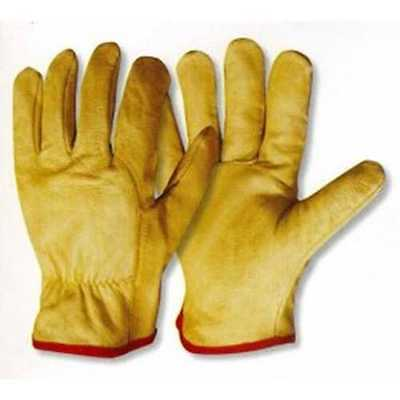 Leather Drivers Work Gloves Eurosafe ***5 pairs***