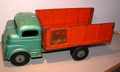 Vintage Structo Flat Bed Fixed Bed Farm Truck