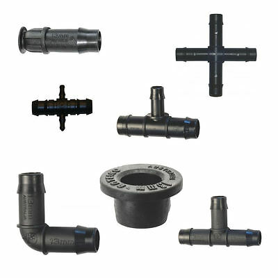 13mm Irrigation Fittings - Highest Quality
