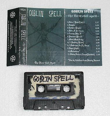 Goblin Spell - The First Evil Spell Demo Tape / Black Metal / Dämonenblut Mayhem
