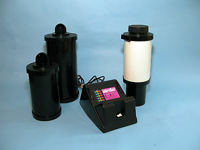 Unicolor Uniroller Model 352 Drum Agitator / (3) Unidrum Tanks,11x14, 8x10, Film