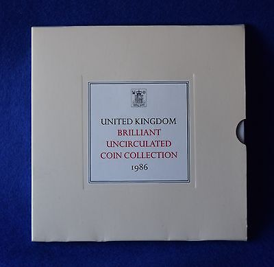 1986 Royal Mint Coin Collection