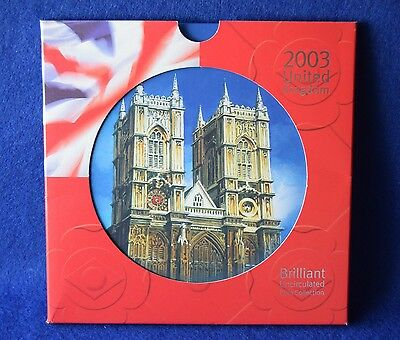 2003 Royal Mint Coin Collection