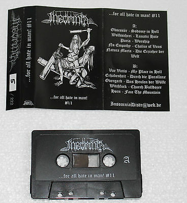 For All Hate In Man #11 Sampler Tape / Black Death Metal / Horn / Wolfsschrei