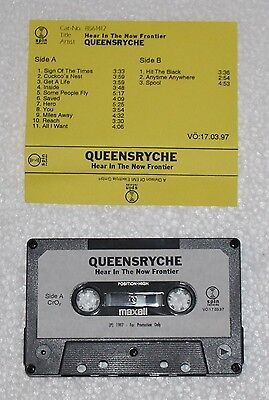 Queensryche - Hear In The Now Frontier Promo Tape / Savatage / Heavy Power Metal