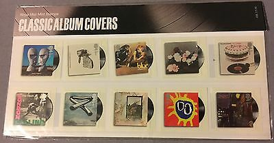 2010 Classic Album Covers Souvenir Sheet - First Issue Sheet of Mint Stamps