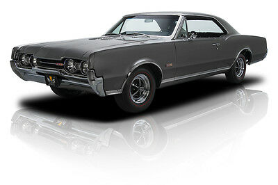 1967 Oldsmobile 442  Documented Restored Numbers Matching Antique Pewter 442 400 V8 4 Speed PS PB