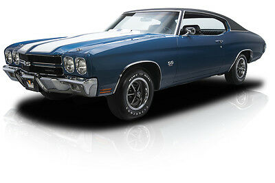 1970 Chevrolet Chevelle  Documented Numbers Matching Chevelle SS LS6 454 V8 M22 4 Speed 12 Bolt 4.10