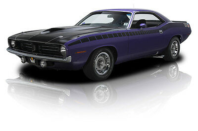1970 Plymouth Barracuda  Restored Numbers Matching Plum Crazy AAR 'Cuda 340 Six Pack V8 3 Speed Automatic