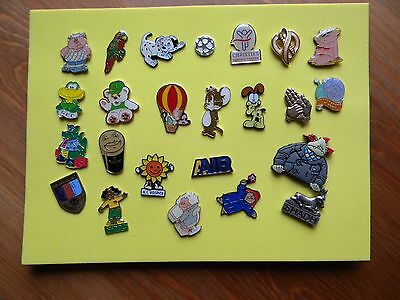 pin badges, joblot - charity and others