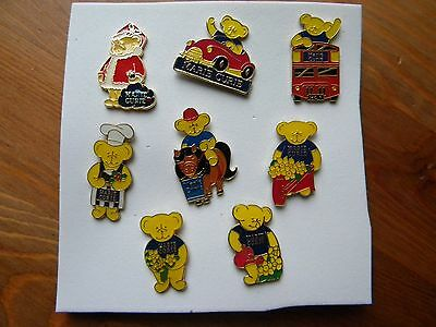 8 Marie Curie  pin badges -