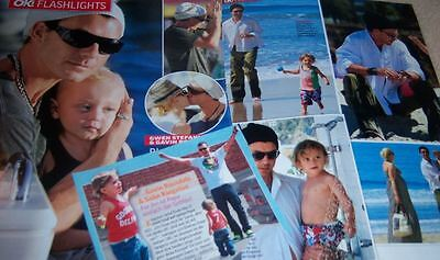 Gavin Rossdale 31 pc German Clippings Collection Gwen Stefani