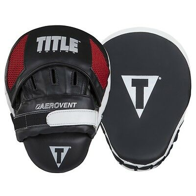TITLE Boxing Aerovent Excel Incredi-Mitts Punch Mitts