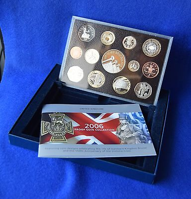 2006 Royal Mint Boxed Proof Coin Set With Coa