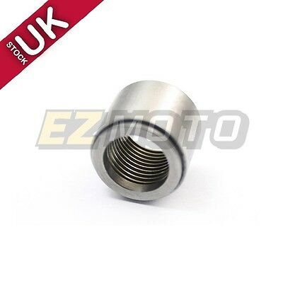 "3/8"" NPT Female Solid Steel Weld in Bung AN Fittings Adapter  x 1PC Silver"
