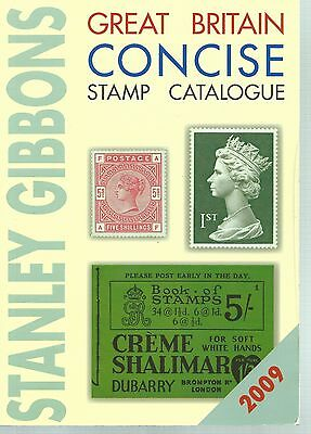 Stanley Gibbons Great Britain Concise Stamp Catalogue -2009