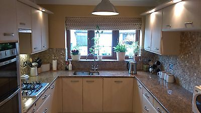 Complete used, high quality kitchen with granite worktops inc. some appliances