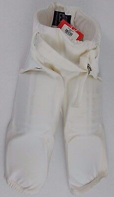 NWT Under Armour White Football Pants Integrated Pads Size Youth Small Display
