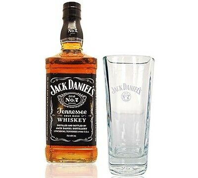 Set Of 2 New Jack Daniels Highball Glasses - Great Gift Idea