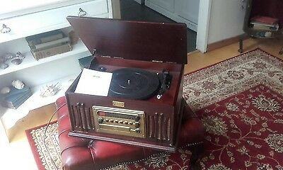 vintage  collection gramophone record  player cassette cd radio