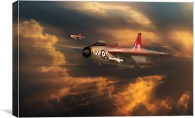 The Firebirds, English Electric Lightning F.Mk 1A. Print Or Canvas. Airpower Art