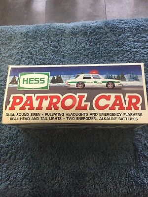 Vintage Hess 1993 Patrol Car Sounds And Lights New
