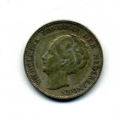 1931 One 1 Guilder Coin Holland  (4322)
