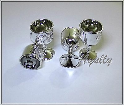 Decorated Wine Glass Kiddush Sabbath Passover Pesach Seder Cup for kids