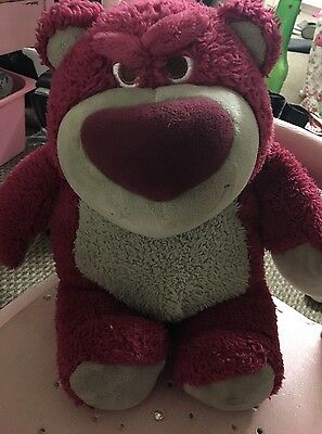 Disney Pixar Toy Story Lotso Hugging Bear Strawberry Scented Disney Store