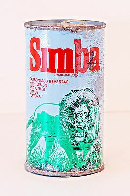 Vintage Simba Cola Can - 12oz - circa 1970's - Unopened