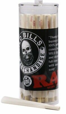 RAW Organic King Size Pre-Rolled Cones (100 Pack)