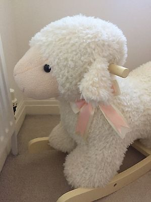 Rocking Animal Dolly The Sheep Excellent Condition