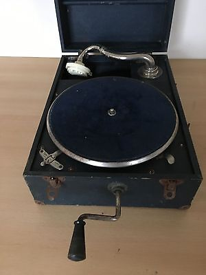 Vintage/Antique Wind Up Gramophone – May Fair-Standard Model