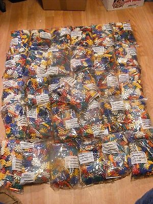 19 Lb Bulk Lot of Assorted  K'NEX Pieces  new in sealed bags