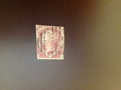 Great Britain 1870 11/2d Rose Red SG51 Used