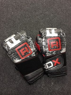 RDX Leather boxing gloves - Gel Lining 14 Oz