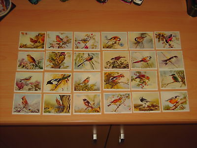 Superb Two Full Sets Of Imperial Birds Of Britain Cards (See Discription)