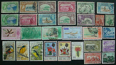 Trinidad & Tobago: Collection Of 29 Used Stamps: Lot 4