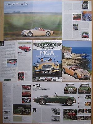 MG MGA Buying Guide & MGA 1500 / 1600 Reports- 19 pages from Classic & Sportscar